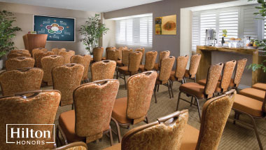 Ashton Meeting Room Hilton Honors Tropicana Las Vegas