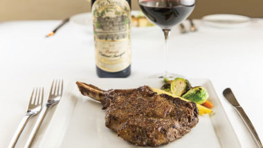 Steak and Wine Dining at Tropicana Las Vegas