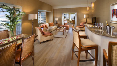 Grand Palm Suite Amenities
